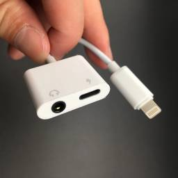 Adaptador Iphone iOs Para Fone p2 Para Lightning!