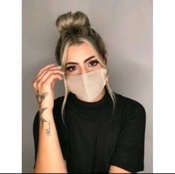 Marcará  tricot, máscara  modal, mascara blogueira