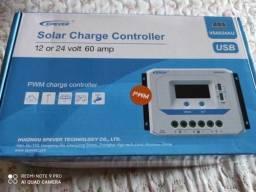 Controlador De Carga Para Painel Solar 60a 12v 24v Epever