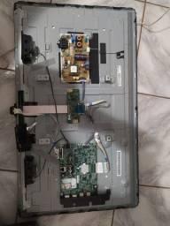 Fonte, placa e auto falantes smart tv LG 32