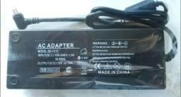 Adaptador Conversor 12v 10A Bivolt 110 / 220