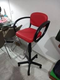 Cadeira corte de cabelo posso entregar
