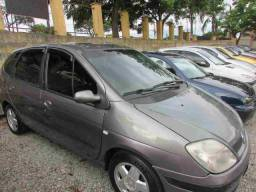 Renault scenic 36x549 sem entrada expression 1.6 flex completa 2005