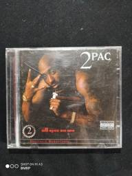 CD duplo 2Pac ALL eyez on me