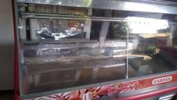 Expositor de carne para açougue