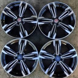 Rodas aro 20(Focus/Fusion)+4 pneus 225/35 R20 semi novos!(4.699$ até 10x sem juros )