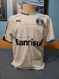 Camisa Grêmio Branca Puma 2010 - Tamanho M