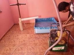 Perfuração de poço artesiano e limpeza de poço artesiano instalação hidráulica