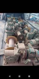 Vendo prensa hidráulica , guinchos elevador, ponte Rolante