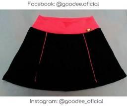 Shorts Saia Rodado Fitness Treino Academia