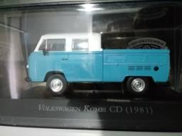 Kombi cabine dupla 1981 miniatura