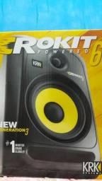 Monitores de áudio krk rokit 6