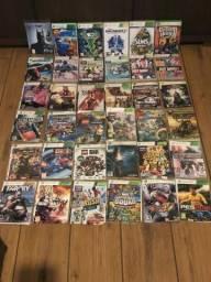 Xbox 360 + kinect + 50 jogos super novo