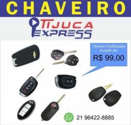 Chave codificada - Chaveiro profissional