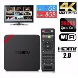 Tv Box Android - T95n-6.0-2gb-ram-8gb-rom-4core-4k