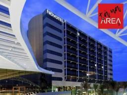 Oportunidade para investidor: apartamento novotel hangar