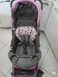 Carrinho de bebê Cosco Passeio femenino completo