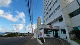 Flat de 1 quarto com linda vista pra o Morro do Careca - Ponta Negra