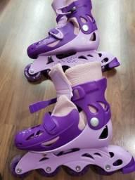 Roller patins inline ajustável