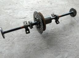 Eixo Triciclo - Quadriciclo - kart