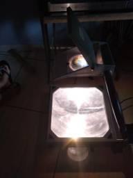 Retro projetor, mesa de luz