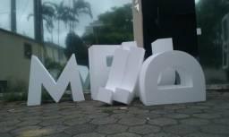Letras - letreiros - logos 3d