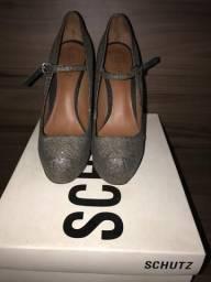 Sapato prata schutz