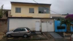 Casa de 2° piso com 02 quartos bairro Canaã em Inhoaíba