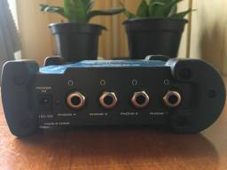 Amplificador de fone samson s-amp