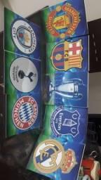 Kit de placas liga dos campeões da Europa