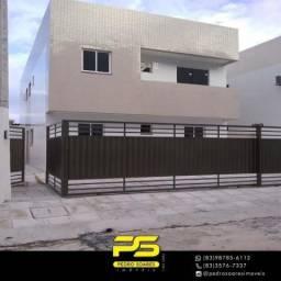 Apartamento com 2 dormitórios à venda, 60 m² por R$ 120.000 - Paratibe - João Pessoa/PB