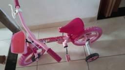 Bicicleta menina infantil