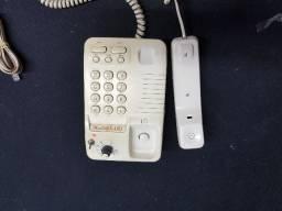 Telefone amplificado para deficientes auditivos. R$ 75,00