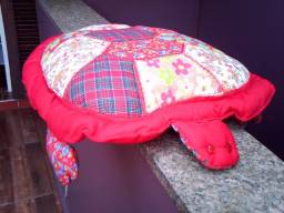Travesseeiro ou Almofada Pach work-feita Artesanalmente