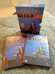 Box do seriado House- temporadas 1 a 5