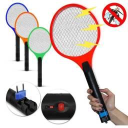 Título do anúncio: Raquete Elétrica Mata Mosquito Recarregavel Bivolt