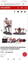 Genis fitness exercício em casa
