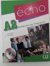 Echo A2 - Livre D´eleve + Dvd-rom - Curso Francês