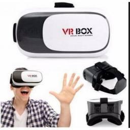 Óculos 3d Realidade Vr Box Virtual Reality - Diversão Garantida
