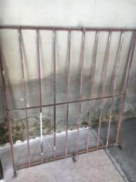 Grade de ferro para janela