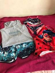 Kit roupas menina - Bom estado