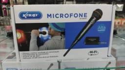 Microfone Sem Fio 30mts Knup Kp-m0005