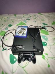 Playstation 4 pro + 1 jogo