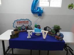 Decoração tema Thomas e seus Amigos