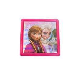 Quebra-cabeca Adesivo Elsa e Anna Frozen Disney 36 Peças