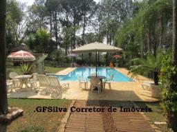 Chácara 5.200 m2 Píscina e Casa ampla campo futebol churrasq. Ref. 490 Silva Corretor