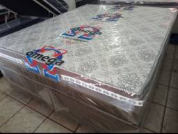 Conjunto box queen molas ensacadas por apenas 1.199 a vista