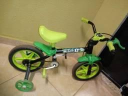 Bicicleta Infantil Aro 12 Verde