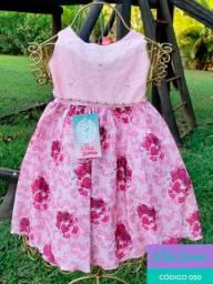 Vestido Infantil 01 ao 03 Lê Petit Le Polá