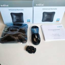 Broadlink RM4 Pro Ir E Rf 315/433mhz -Controle Remoto Universal- Alexa e Google Assistent